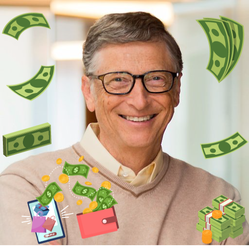 Spend Bill Gates Money 0.4 MOD APK Dwnload – free Modded (Unlimited Money) on Android