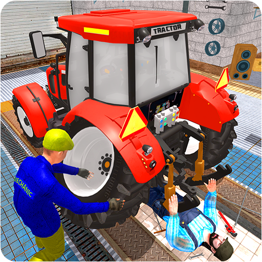 Tractor Mechanic Simulator 19 1.6 MOD APK Dwnload – free Modded (Unlimited Money) on Android