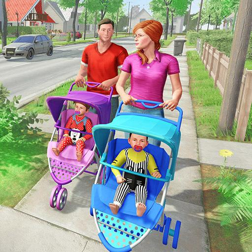 Virtual Mother New Baby Twins Family Simulator  2.2.2 MOD APK Dwnload – free Modded (Unlimited Money) on Android