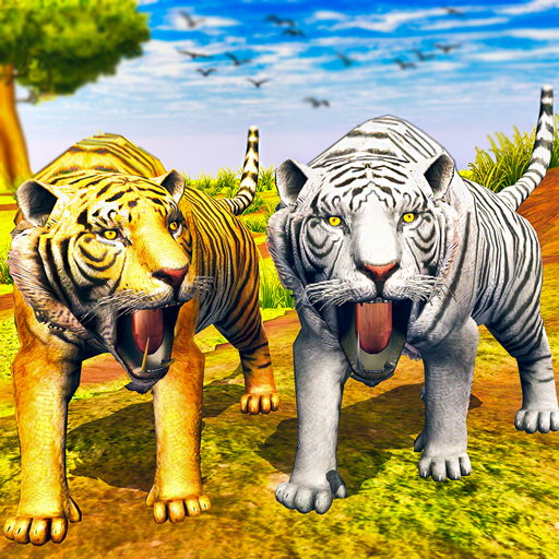 Virtual Tiger Family Simulator Wild Tiger Games  1.7 MOD APK Dwnload – free Modded (Unlimited Money) on Android