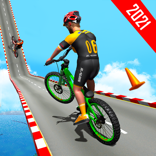 BMX Bicycle Racing Stunts 3D Mega Ramp Cycle Games 2.7 MOD APK Dwnload – free Modded (Unlimited Money) on Android