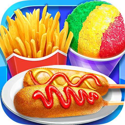 Carnival Fair Food – Crazy Yummy Foods Galaxy 1.3 MOD APK Dwnload – free Modded (Unlimited Money) on Android
