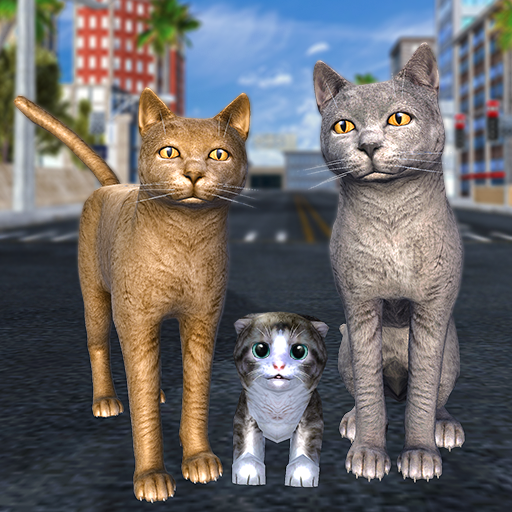 Cat Family Simulator: Stray Cute Kitty Game 10.1 MOD APK Dwnload – free Modded (Unlimited Money) on Android