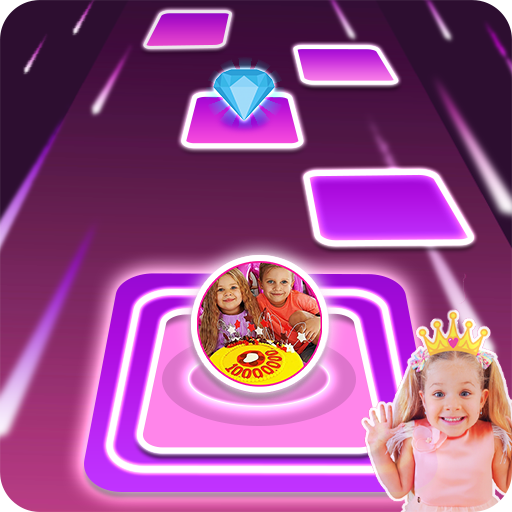 Diana and Roma Tiles hop for kids 3.0 MOD APK Dwnload – free Modded (Unlimited Money) on Android