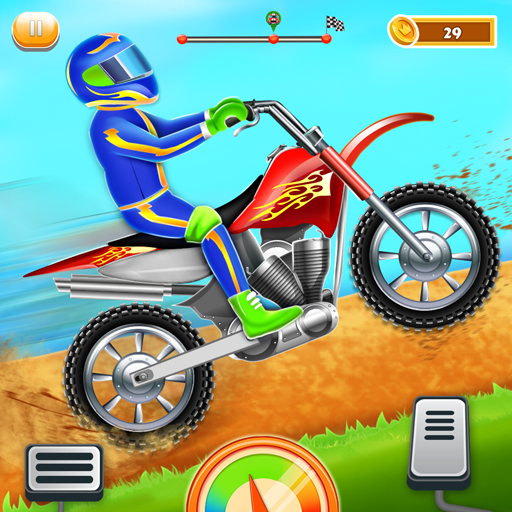 Kids Bike Hill Racing: Free Motorcycle Games 0.9 MOD APK Dwnload – free Modded (Unlimited Money) on Android