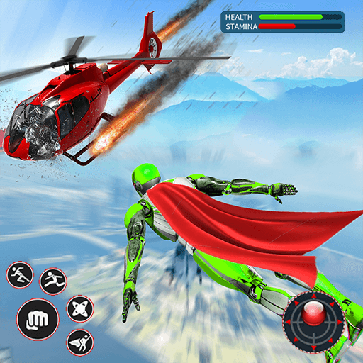 Light Speed Robot Hero – City Rescue Robot Games 1.0.2 MOD APK Dwnload – free Modded (Unlimited Money) on Android