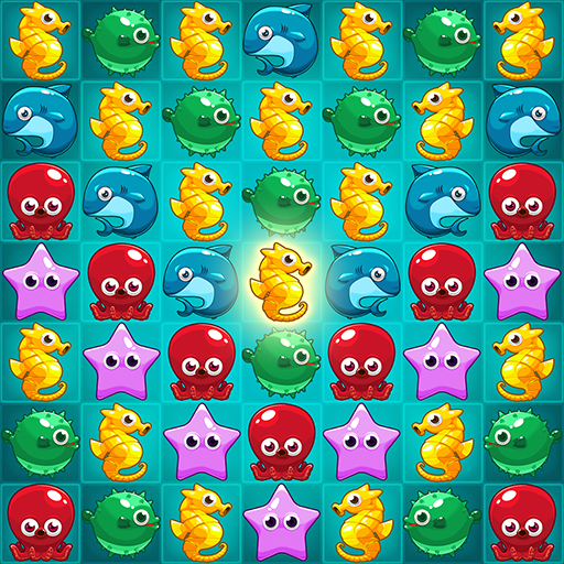 Ocean Match Puzzle 1.2.4  MOD APK Dwnload – free Modded (Unlimited Money) on Android
