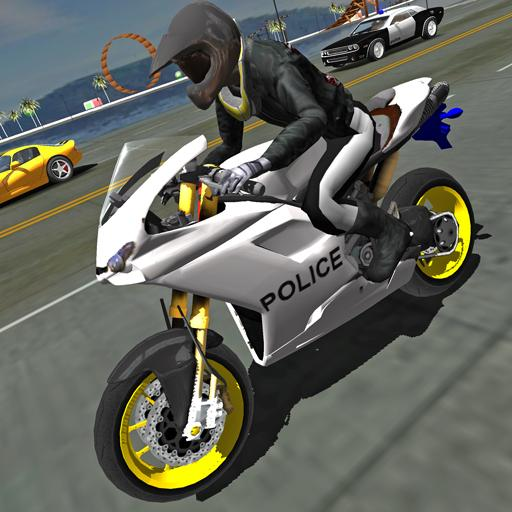 Police Motorbike Traffic Rider 1.8 MOD APK Dwnload – free Modded (Unlimited Money) on Android