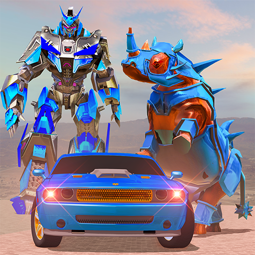 Rhino Robot Car Transformation: Robot City battle 0.6 MOD APK Dwnload – free Modded (Unlimited Money) on Android