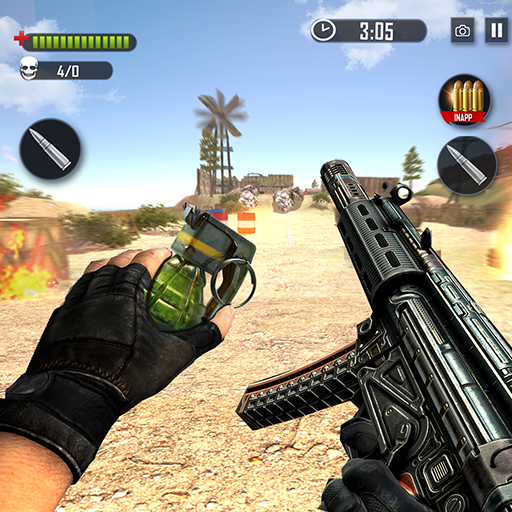 FPS Commando Hunting – Free Shooting Games  2.1.7 MOD APK Dwnload – free Modded (Unlimited Money) on Android