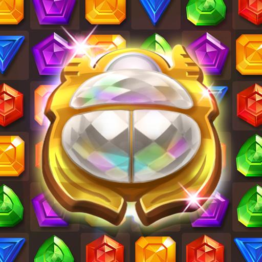 Cleopatra's Jewels – Ancient Match 3 Puzzle Games  1.2.4 MOD APK Dwnload – free Modded (Unlimited Money) on Android