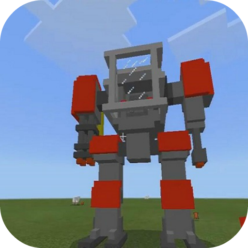 Defender Robot Mod for MCPE 4.4 MOD APK Dwnload – free Modded (Unlimited Money) on Android