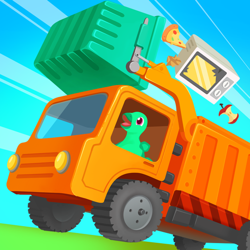 Dinosaur Garbage Truck – Games for kids 1.0.4 MOD APK Dwnload – free Modded (Unlimited Money) on Android
