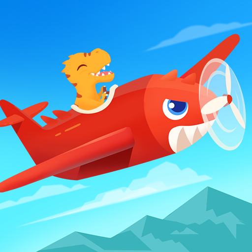Dinosaur Plane – Plane piloting game for kids 1.1.0 MOD APK Dwnload – free Modded (Unlimited Money) on Android