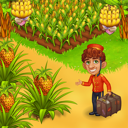 Farm Paradise Fun farm trade game at lost island 2.20 MOD APK Dwnload – free Modded (Unlimited Money) on Android