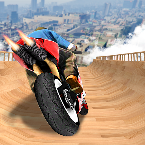 Impossible Mega Ramp Moto Bike Rider Stunts Racing  1.38 MOD APK Dwnload – free Modded (Unlimited Money) on Android