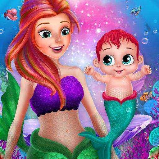 Little Mermaid Baby Care Ocean World 2.0 MOD APK Dwnload – free Modded (Unlimited Money) on Android
