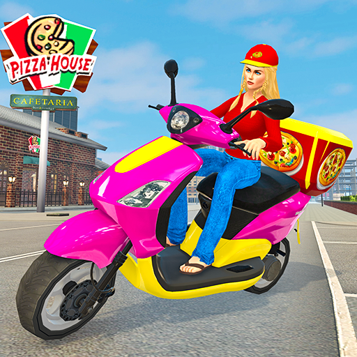 Moto Bike Pizza Delivery – Girl Food Game 1.0 MOD APK Dwnload – free Modded (Unlimited Money) on Android