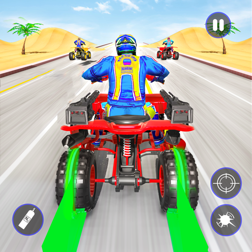 Quad Bike Traffic Shooting Games 2020: Bike Games 3.1 MOD APK Dwnload – free Modded (Unlimited Money) on Android