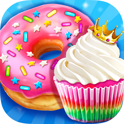 Rainbow Princess Bakery – Make Cupcake & Donut 1.4 MOD APK Dwnload – free Modded (Unlimited Money) on Android