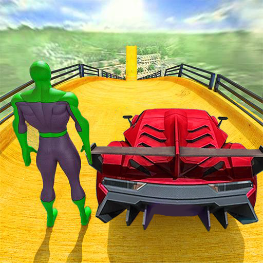 Superhero Car Stunts – Racing Car Games 1.6 MOD APK Dwnload – free Modded (Unlimited Money) on Android