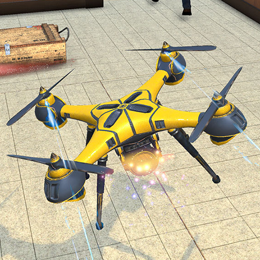 Drone Attack Flight Game 2020-New Spy Drone Games 1.5 MOD APK Dwnload – free Modded (Unlimited Money) on Android