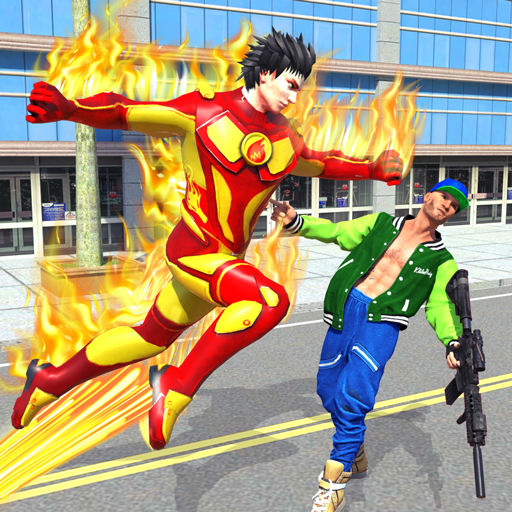 Flying Police Robot Fire Hero: Gangster Crime City 8 MOD APK Dwnload – free Modded (Unlimited Money) on Android