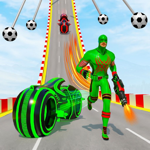 Speed Hero Robot Ramp Bike Transform Robot Games 1.5.0 MOD APK Dwnload – free Modded (Unlimited Money) on Android