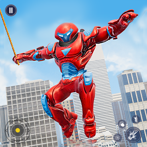 Flying Police Monster Robot Rope Hero: Crime City 1.2 MOD APK Dwnload – free Modded (Unlimited Money) on Android