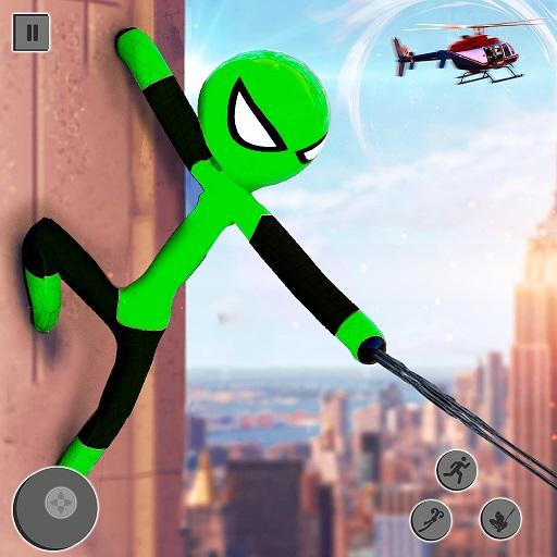 Flying Stickman Rope Hero: Flying Hero: Crime City 2.7 MOD APK Dwnload – free Modded (Unlimited Money) on Android
