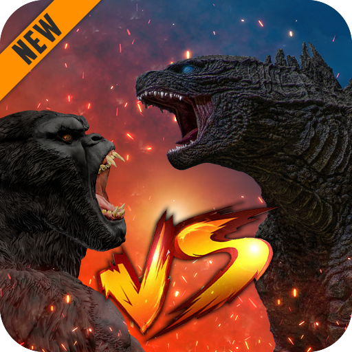 Godzilla & Kong 2021: Angry Monster Fighting Games  4 MOD APK Dwnload – free Modded (Unlimited Money) on Android