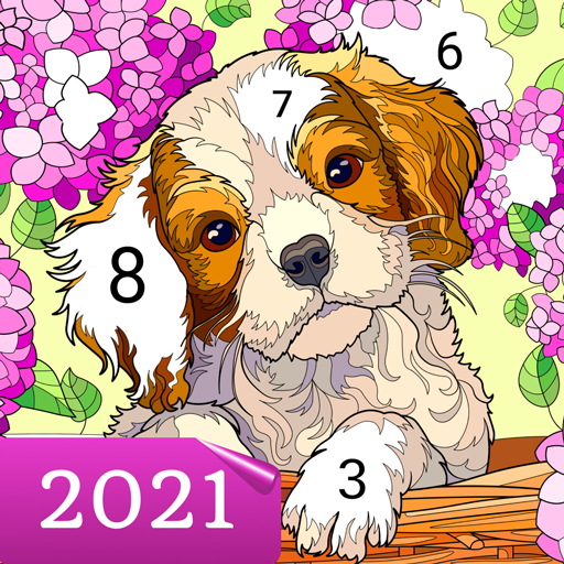 Happy Canvas™ – Happy Paint Coloring Book  2.0.3 MOD APK Dwnload – free Modded (Unlimited Money) on Android