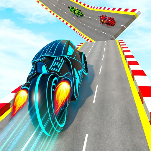 Mega Ramp Light Bike Stunts: New Bike Stunt Games 3.9 MOD APK Dwnload – free Modded (Unlimited Money) on Android