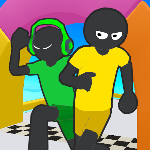Stickman Fall   Running Stick Guys 3D Varies with device MOD APK Dwnload – free Modded (Unlimited Money) on Android