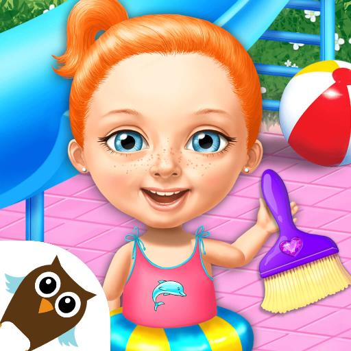 Sweet Baby Girl Cleanup 4 – House, Pool & Stable 4.0.10014 MOD APK Dwnload – free Modded (Unlimited Money) on Android