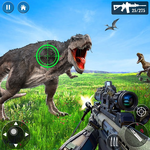 Wild Dino Hunt :Wild Animal Hunting Shooting Games 1.4 MOD APK Dwnload – free Modded (Unlimited Money) on Android