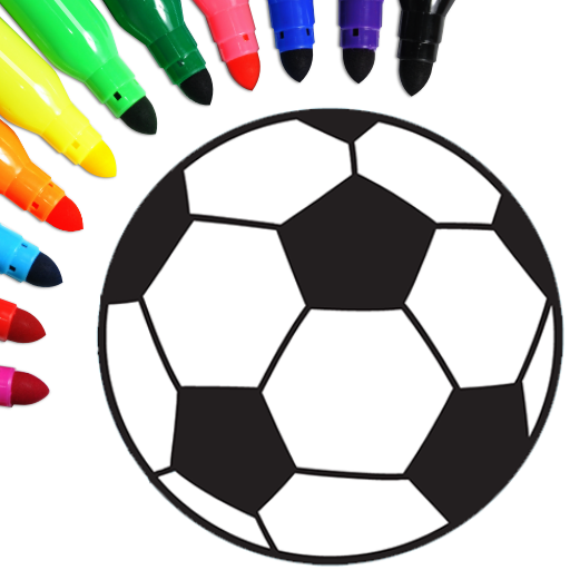 Football coloring book game  16.2.6 MOD APK Dwnload – free Modded (Unlimited Money) on Android