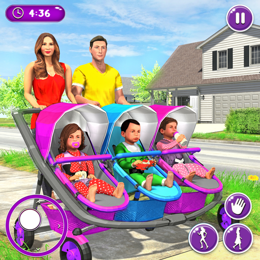 New Mother Baby Triplets Family Simulator 1.1.9 MOD APK Dwnload – free Modded (Unlimited Money) on Android