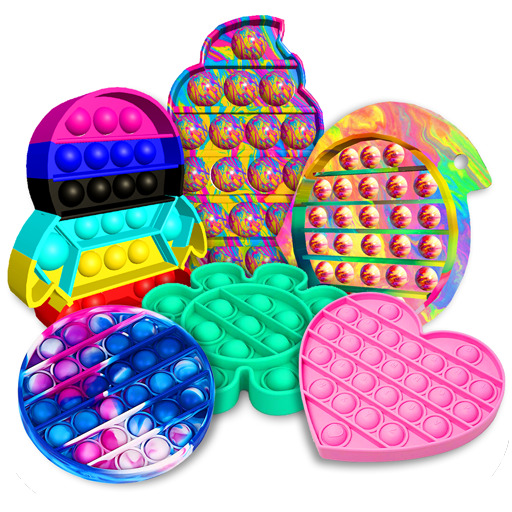 Pop it fidget toy 2! DIY calming asmr popers game 1.0.6 MOD APK Dwnload – free Modded (Unlimited Money) on Android