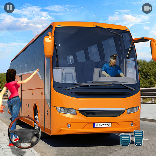 Real Bus Simulator Driving Games New Free 2021 2.1 MOD APK Dwnload – free Modded (Unlimited Money) on Android