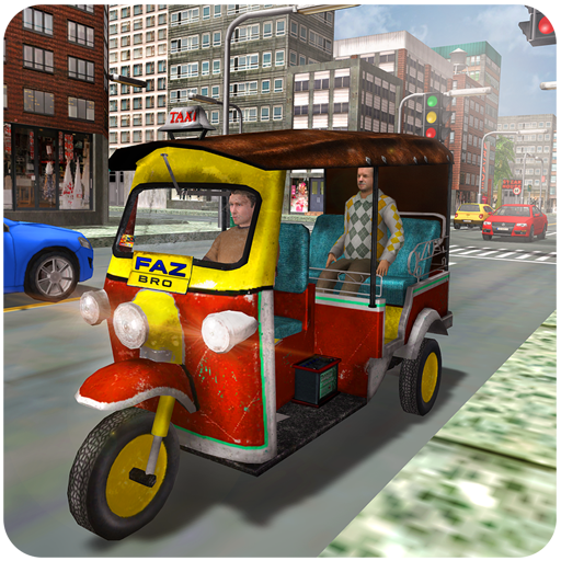 Tourist Transport Taxi: Tuk Tuk Driving Simulator 2.3 MOD APK Dwnload – free Modded (Unlimited Money) on Android
