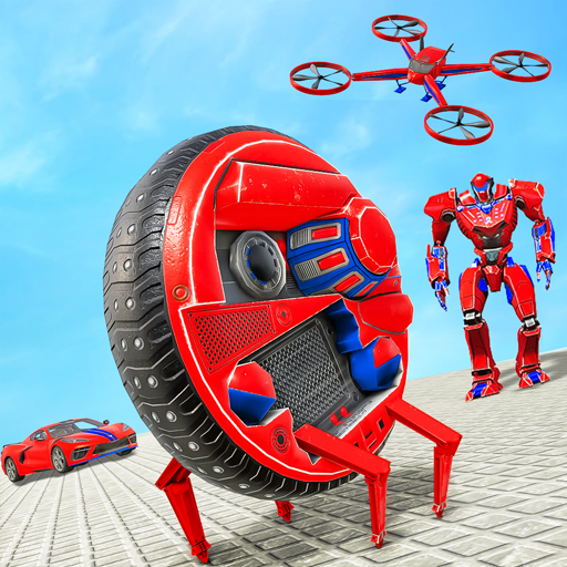 Drone Robot Car Driving – Spider Wheel Robot Game 1.3 MOD APK Dwnload – free Modded (Unlimited Money) on Android