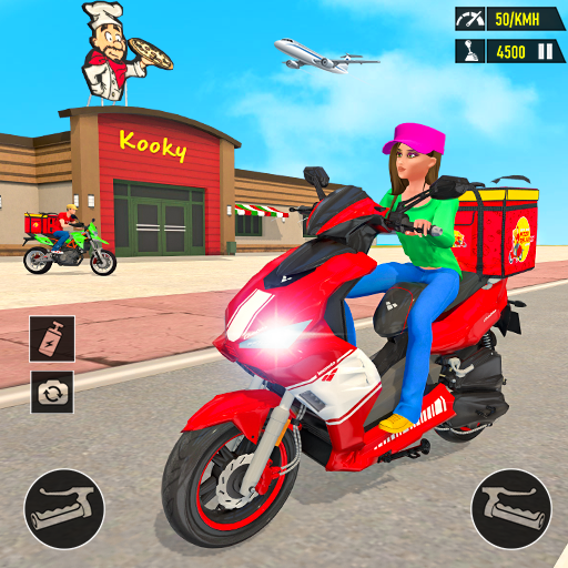 Pizza Delivery: Boy & Girl Bike Game 1.0 MOD APK Dwnload – free Modded (Unlimited Money) on Android