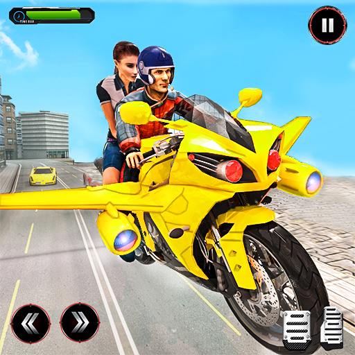 Real Flying Bike Taxi Sim 2021 5.3 MOD APK Dwnload – free Modded (Unlimited Money) on Android