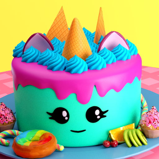 🎂 Cake maker – Unicorn Cooking Games for Girls 🌈 3 MOD APK Dwnload – free Modded (Unlimited Money) on Android
