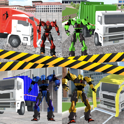 Garbage Truck Driving: Transformer Robot Cleaner 1.0.7 MOD APK Dwnload – free Modded (Unlimited Money) on Android