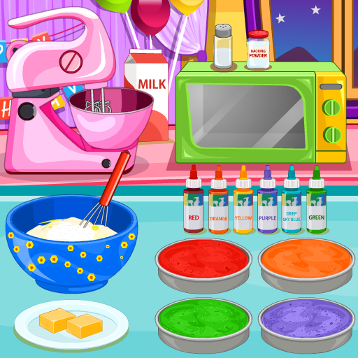 Cooking Rainbow Birthday Cake 4.0.646 MOD APK Dwnload – free Modded (Unlimited Money) on Android