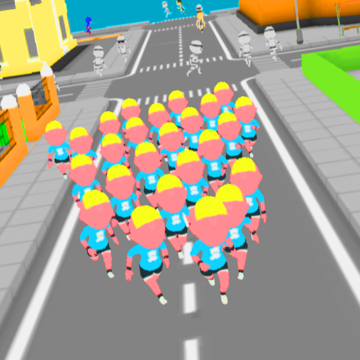 Crowd Run 3D City in fall.io 1.3 MOD APK Dwnload – free Modded (Unlimited Money) on Android